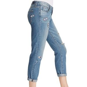 Paige Jimmy Jimmy Ankle Eye Patches Jeans